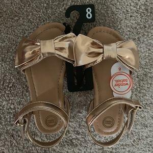 Toddler Girls size 8 sandals
